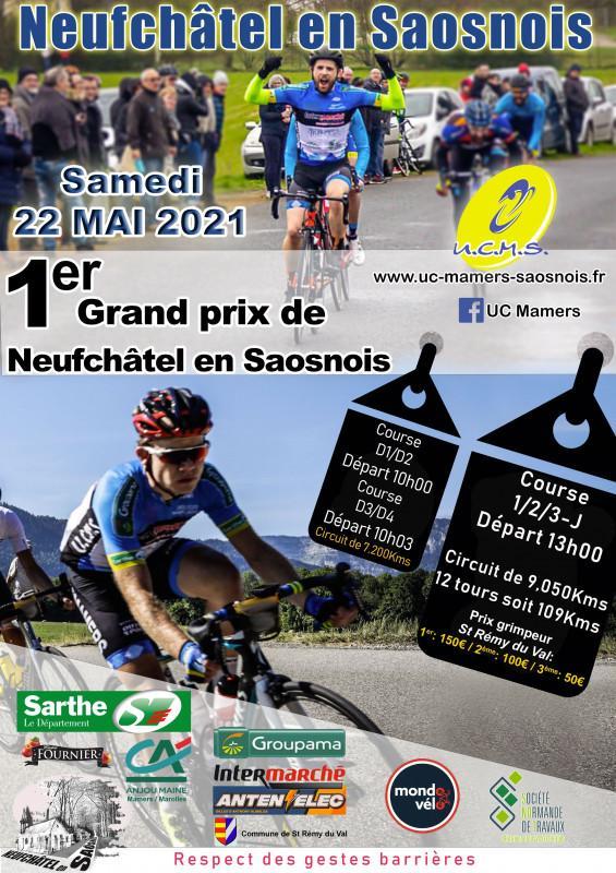 Flyer Grand Prix de Neufchâtel En Saosnois