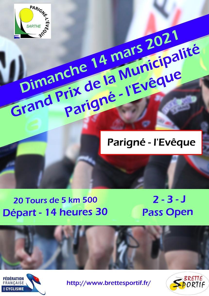 Flyer Grand Prix de la Municipalité